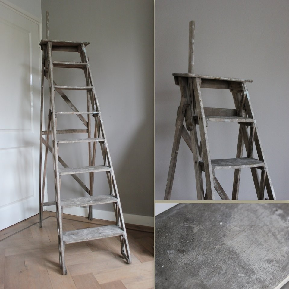 Brocante trap ladder